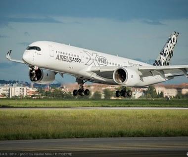 Airbus A350 XWB - największy konkurent  Boeinga 787 Dreamliner