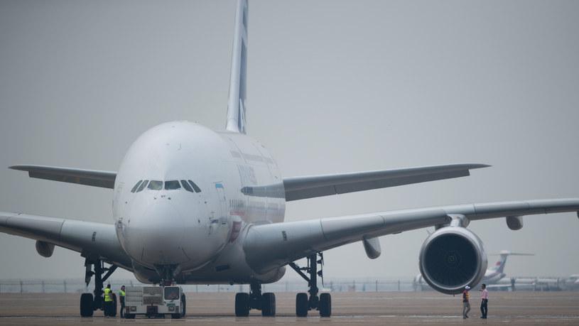 Airbus A380 ma teraz nowe wnętrze /AFP