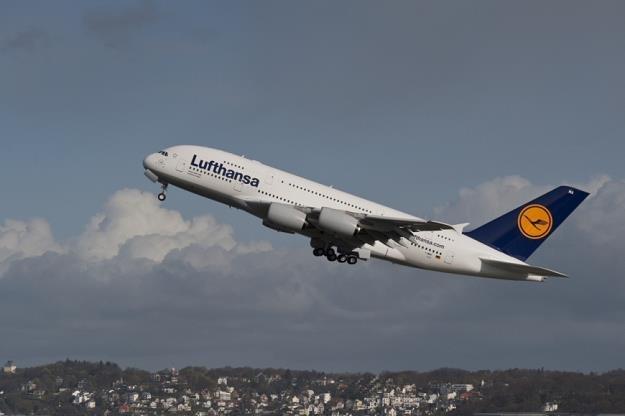 Airbus A380 w barwach Lufthansy /