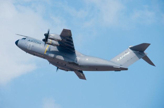 Airbus A400M - maszyna tego typu rozbiła się w Sewilli /PAP/EPA/AIRBUS / HANDOUT /PAP/EPA