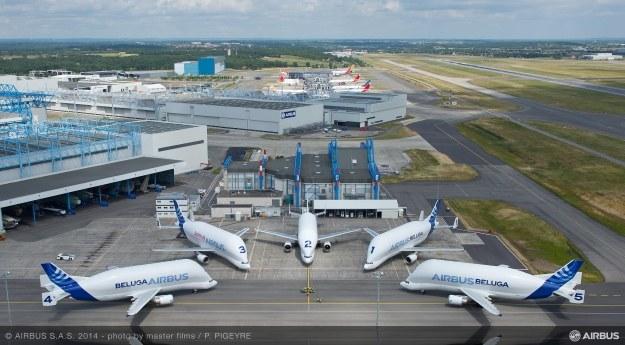 Airbus Beluga.   Fot. Airbus /materiały prasowe