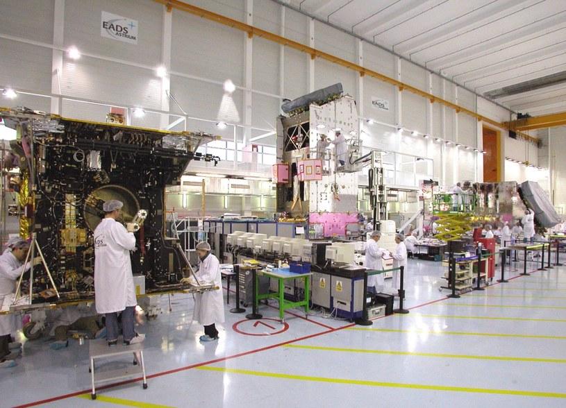Airbus Defence and Space stworzy pomieszczenia do budowy satelitów w Warszawie. Fot. Airbus /&nbsp