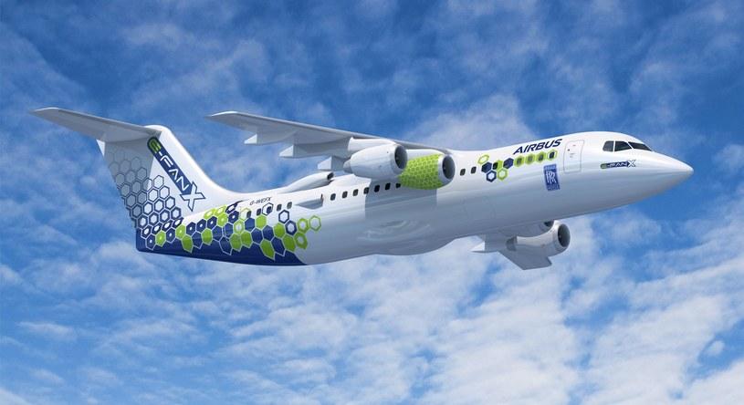 Airbus E-Fan /materiały prasowe