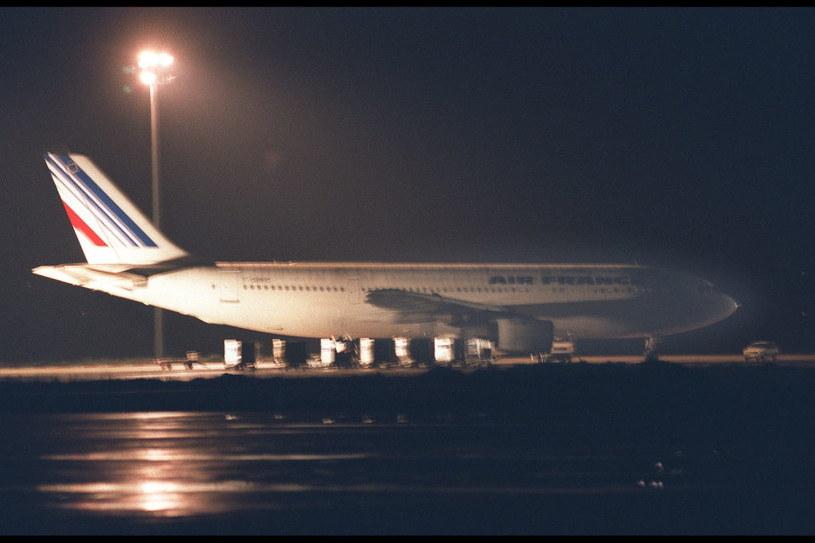 Airbus na lotnisku w Marsylii, 25 grudnia 1994 /Pascal Le Segrertain /Getty Images