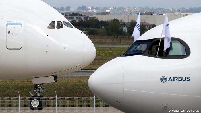 Airbus planuje likwidację 15 tys. miejsc pracy na całym świecie /REUTERS/Regis Duvignau /Deutsche Welle