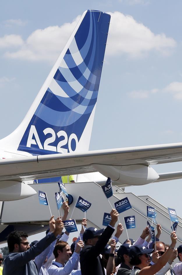Airbus pokazał nową maszynę serii A220-300 /EPA