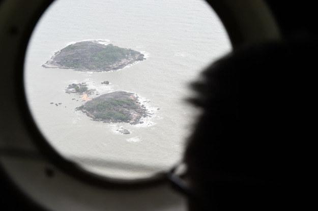 Airbus runął do morza /AFP