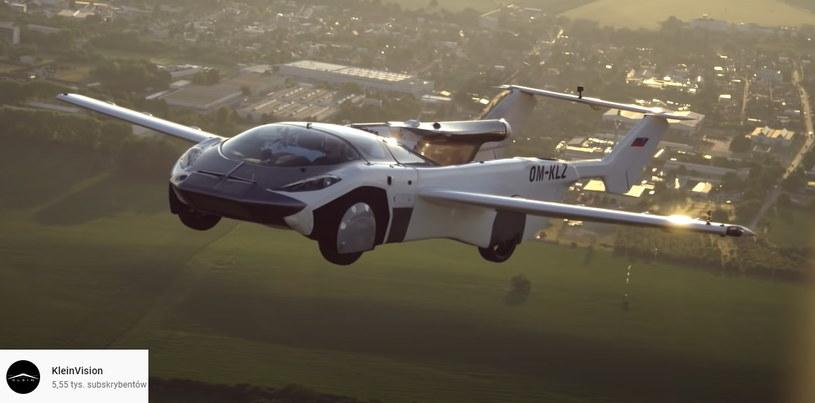 AirCar może być pierwszym latającym samochodem dostępnym komercyjnie /materiały prasowe