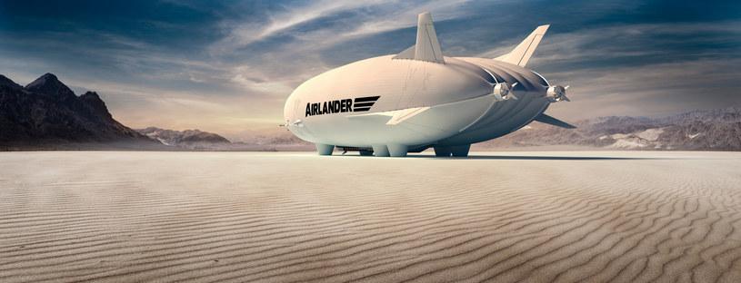 Airlander 10 ma być luksusowym długotystansowym olbrzymem /East News
