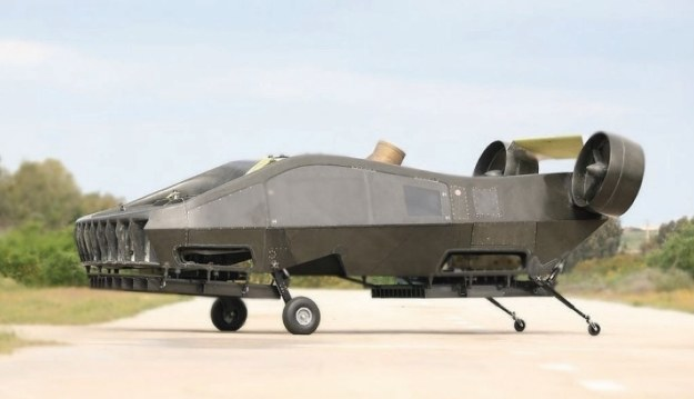 AirMule.   Fot. Tactical Robotics /materiały prasowe