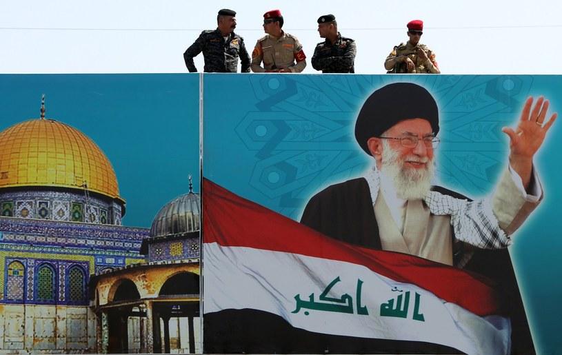 Ajatollah Ali Chamenei przywódca duchowy Iranu /AFP