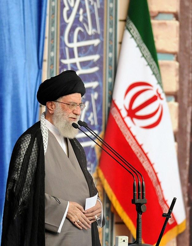 Ajatollah Ali Chamenei /PRESIDENTIAL OFFICIAL WEBSITE /PAP/EPA