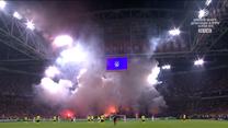 Ajax Amsterdam - Borussia Dortmund. Niesamowity popis pirotechniki. WIDEO (Polsat Sport)