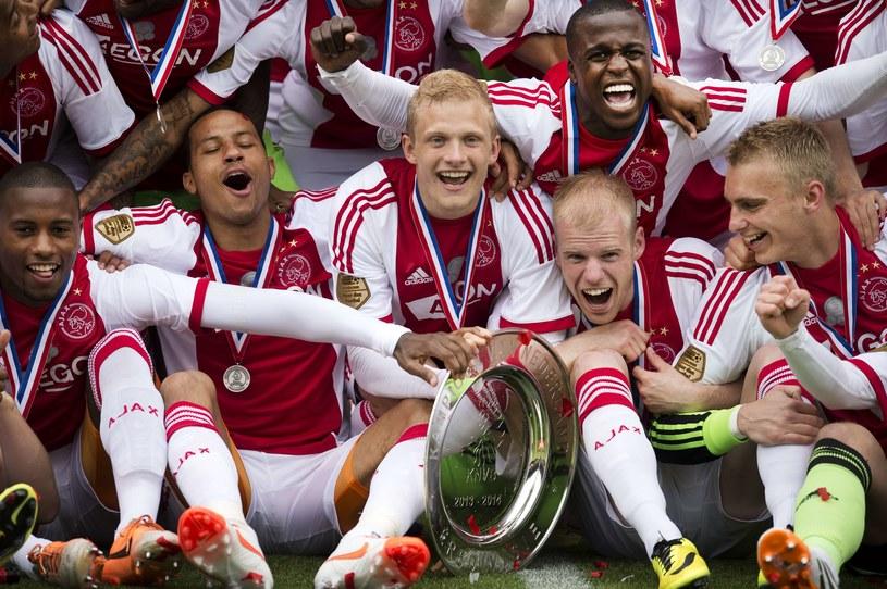 Ajax Amsterdam - mistrzowie Holandii /AFP