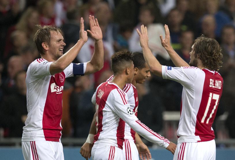 Ajax Amsterdam rozprawił się z Manchesterem City. /AFP