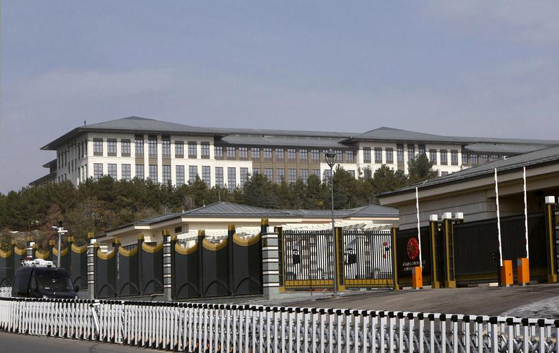 Ak Saray - nowa siedziba prezydenta Turcji Recepa Tayyipa Erdogana /AFP