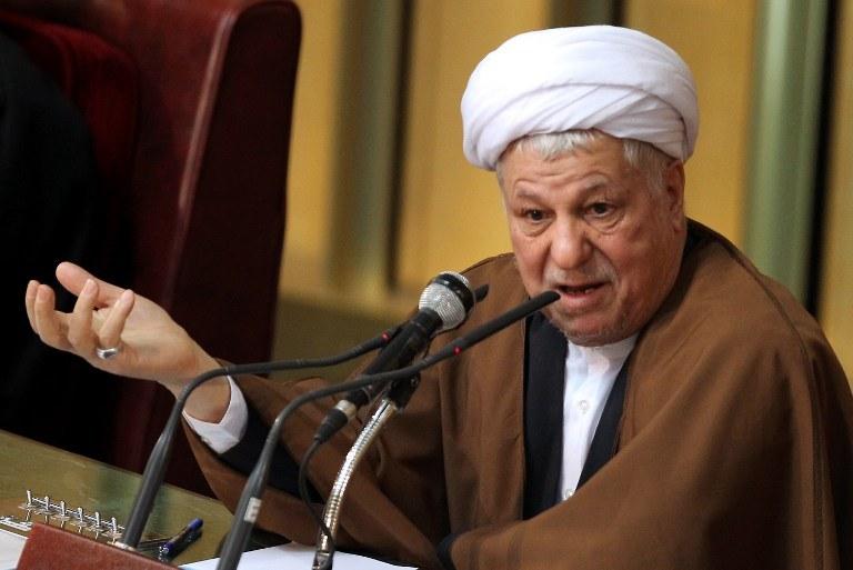 Akbar Hashemi Rafsanjani /AFP