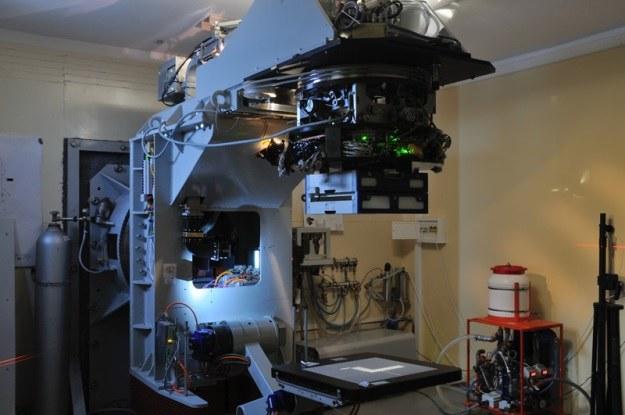 Akcelerator Coline 6 jest obecnie w fazie testów (Fot. aid.ncbj.gov.pl) /materiały prasowe