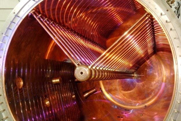 Akcelerator GSI.  Fot. G. Otto, GSI Helmholtzzentrum für Schwerionenforschung /materiały prasowe