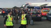 Akcja antyterrorystów na lotnisku w Paryżu. Ewakuowano pasażerów z samolotu