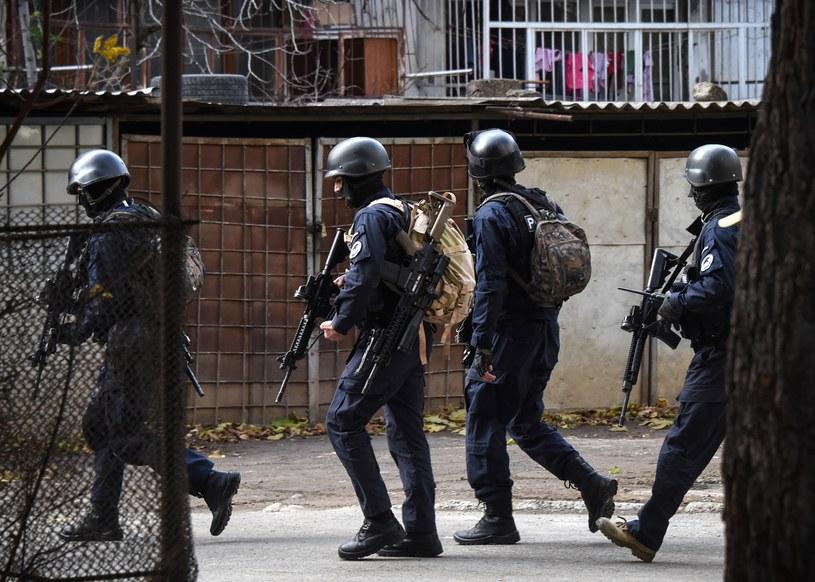 Akcja antyterrorystyczna w Tbilisi /VANO SHLAMOV /AFP