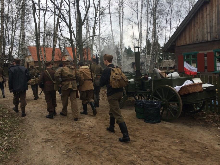 Akcja Burza w skansenie na Mazurach /Piotr Bułakowski /RMF FM
