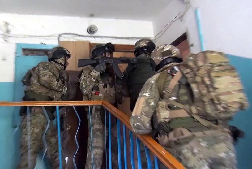 Akcja funkcjonariuszy FSB, zdjęcie ilustracyjne /Russian Federal Security Service /Agencja FORUM
