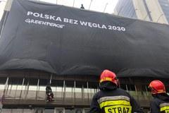 Akcja Greenpeace w Warszawie