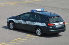 Akcja KAS w Wielkopolsce. W trakcie pościgu ranny funkcjonariusz