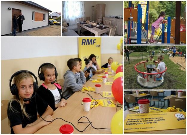 Akcja Lepsze Jutro z RMF FM /Grafika RMF FM