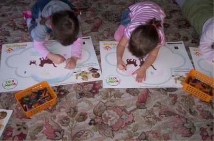 """Akcja """"Mały Dekorator"""" rozbudziła kreatywność dzieci /materiały prasowe"""