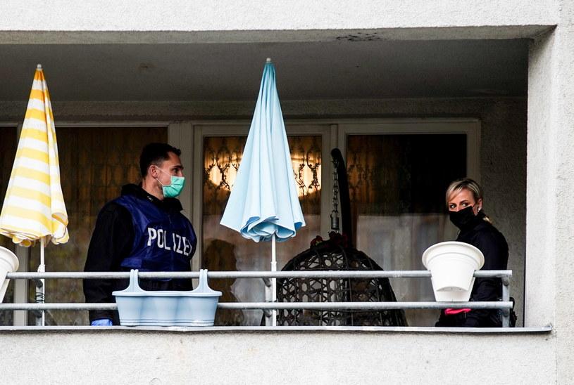 Akcja niemieckiej policji w Berlinie /PAP/EPA