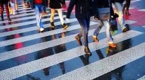 Akcja ostrzegania bezmyślnych pieszych