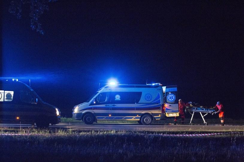 Akcja po wypadku, zdjęcie ilustracyjne /Fot. Marek Maliszewski /Reporter