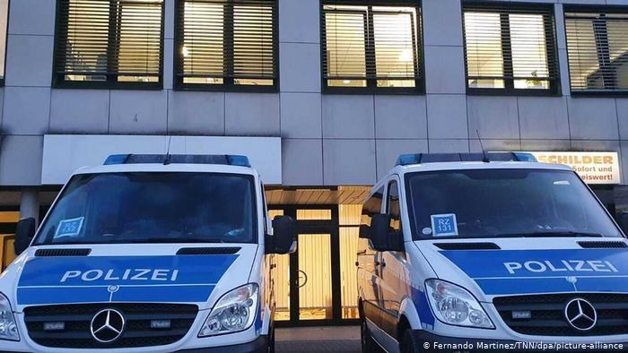 Akcja policji w Garbsen. Fot.  Fernando Martinez dpa Piucture Alliance /Deutsche Welle