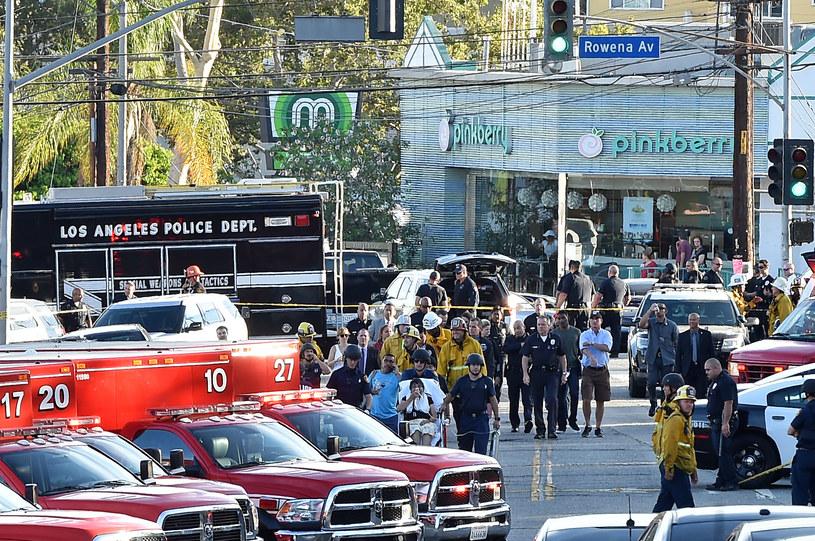 Akcja policji w Los Angeles /AFP
