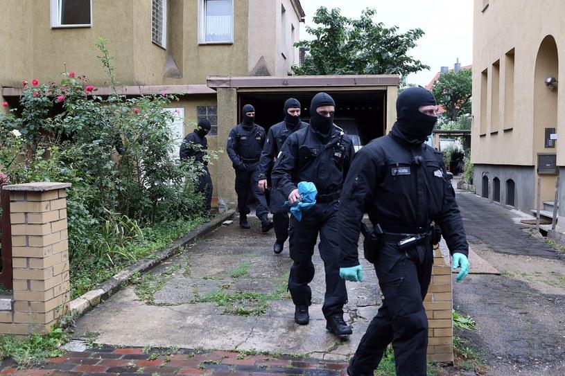 Akcja policji w Niemczech /Deutsche Welle