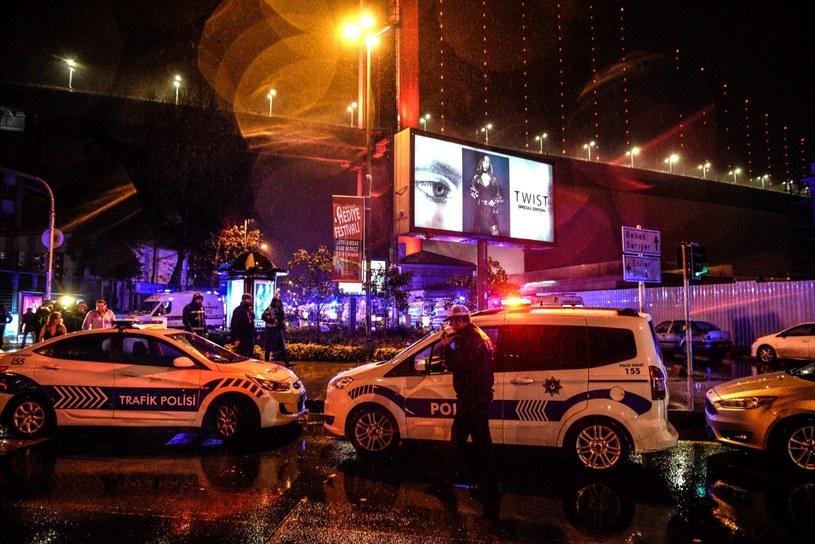 Akcja policji w Stambule /PAP/EPA