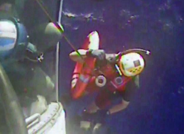 Akcja poszukiwawcza załogi El Faro, 4.10.2015 roku /AFP