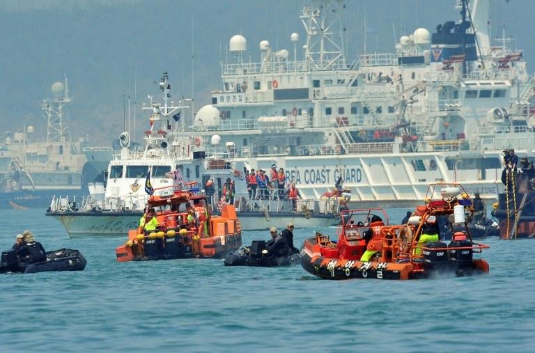 Akcja poszukiwawcza /AFP