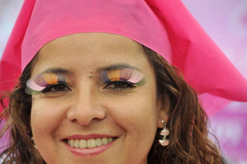 Akcja promująca wśród kobiet wiedzę na temat nowotworów /AFP