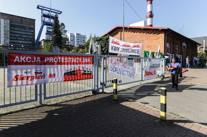 Akcja protestacyjna w Rybniku /Dominik Gajda /Reporter