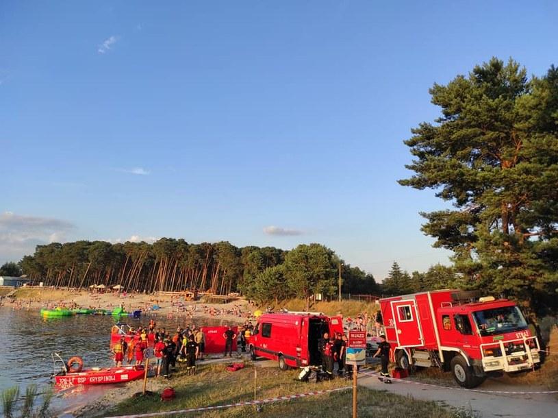 Akcja ratownicza w Kryspinowie (fot. Kraków 112) /facebook.com