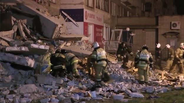 Akcja ratownicza wciąż trwa /RUSSIAN EMERGENCY MINISTRY PRESS SERVICE HANDOUT /PAP/EPA