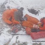 Akcja ratunkowa na Babiej Górze. Turyści trafili do szpitala