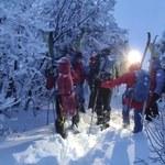 Akcja ratunkowa na Babiej Górze. W Beskidach wciąż zima