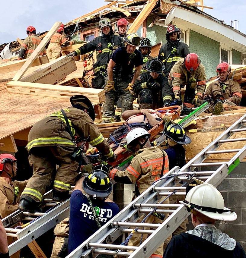 Akcja ratunkowa na miejscu zdarzenia /Twitter/ DC Fire and EMS /Archiwum