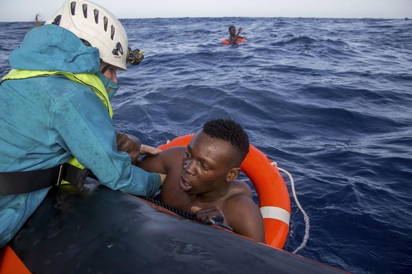 Akcja ratunkowa na Morzu Śródziemnym, zdj. ilustracyjne /East News