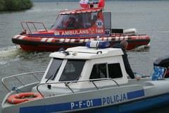 Akcja ratunkowa na zalewie Jeziorsko