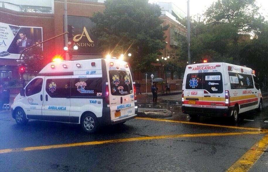 Akcja ratunkowa po ataku /RED DE APOYO HANDOUT /PAP/EPA